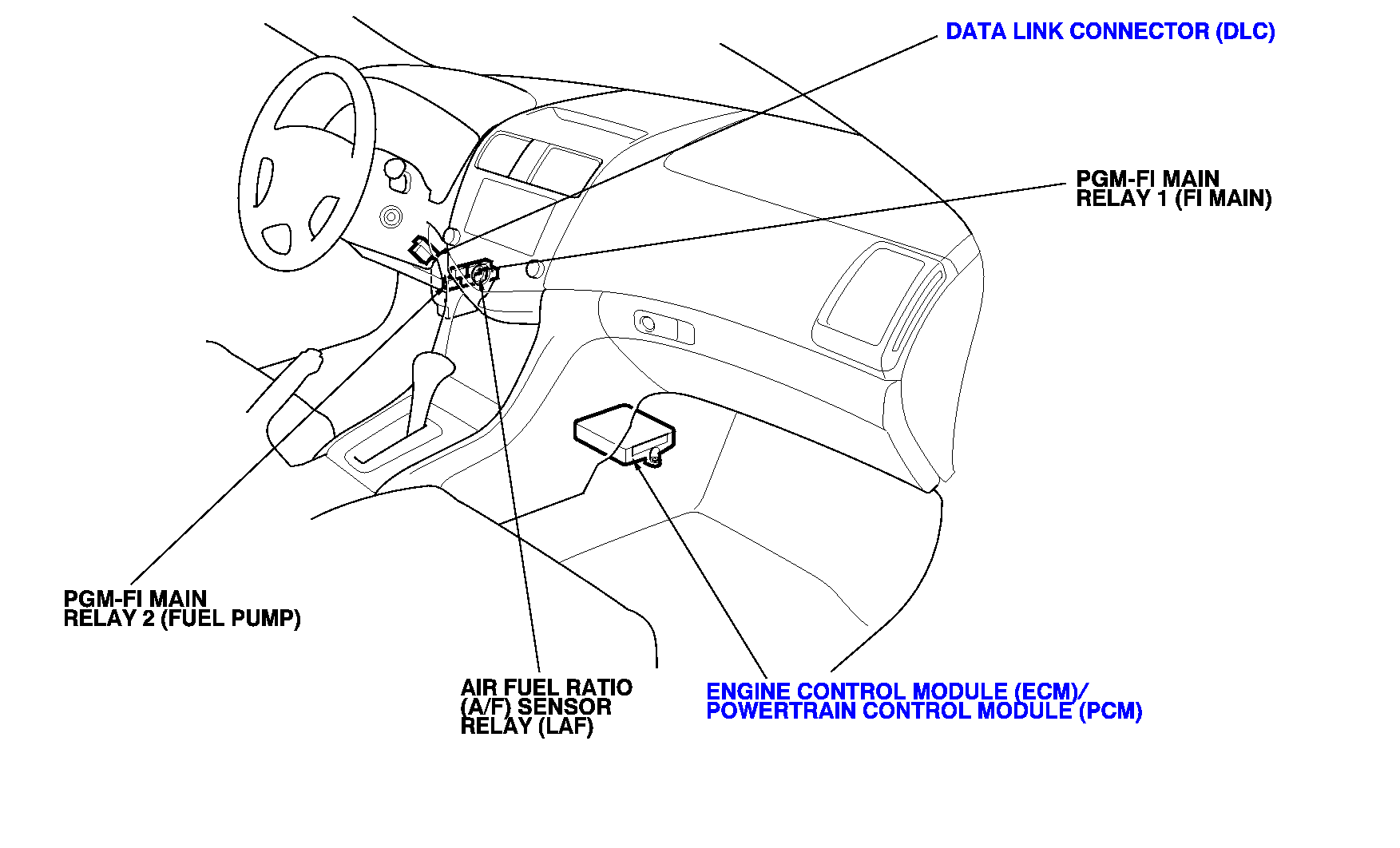 1995 Dodge Ram Pcm Wiring Diagram Neon Diagrams Honda Ca95 Harness For A The