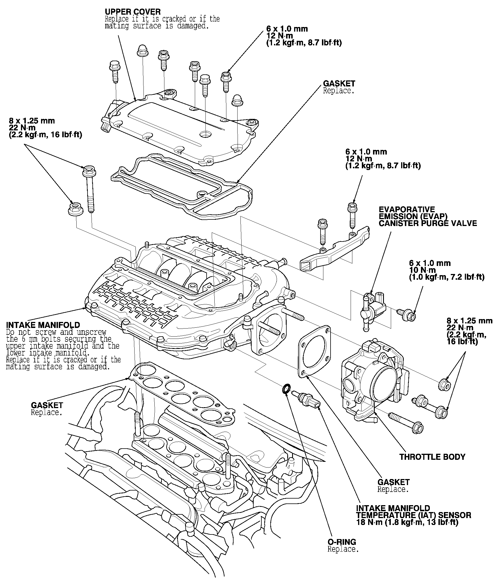 honda accord knock sensor location