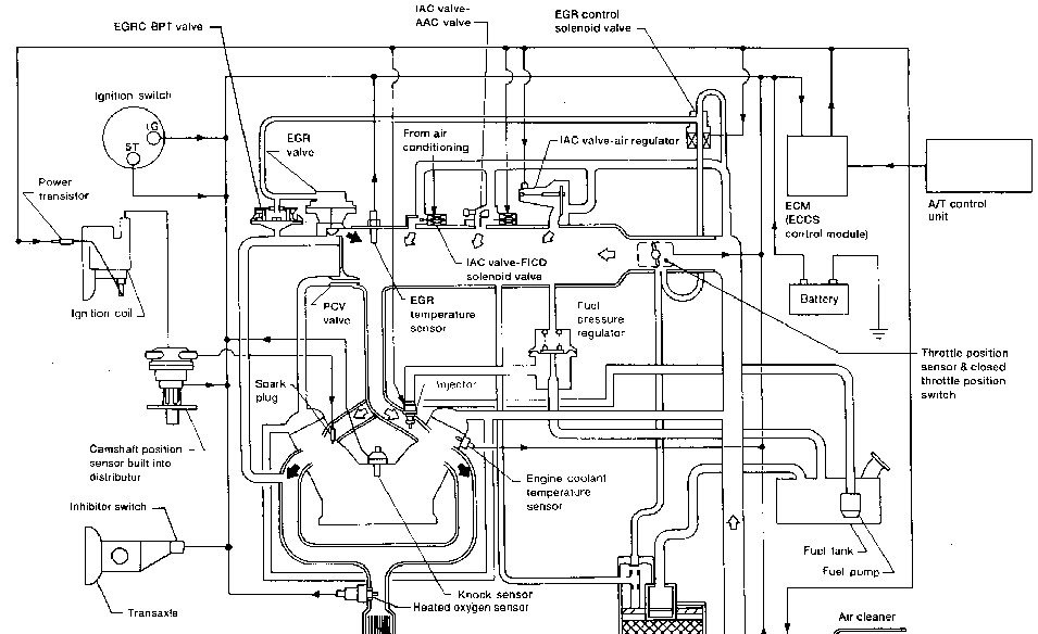 infiniti vacuum diagram 1999 g20 infiniti wiring diagram would vacum diagram be have a with a s orc witha tail ... #2