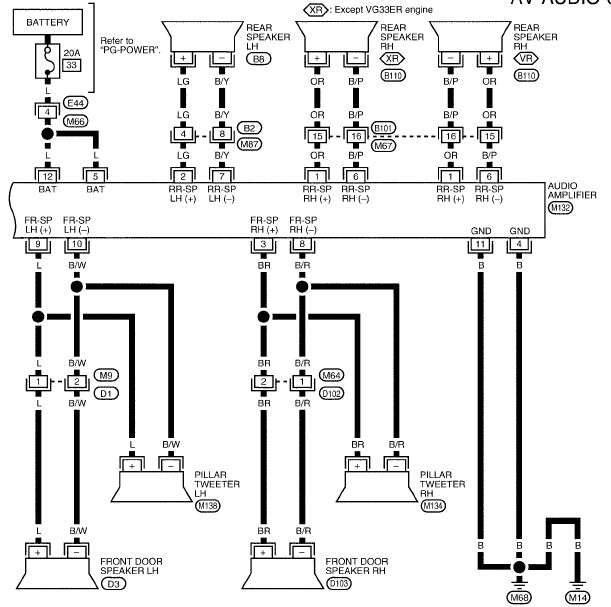 rockford fosgate wiring diagram rockford car wiring diagrams manuals