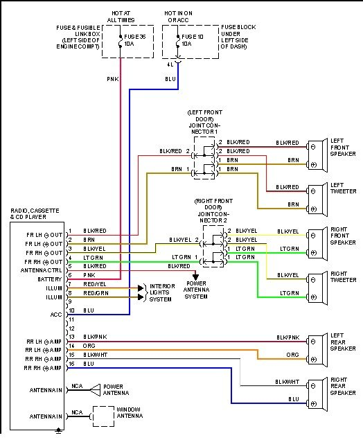 2010 nissan altima radio wiring harness diagram  filter