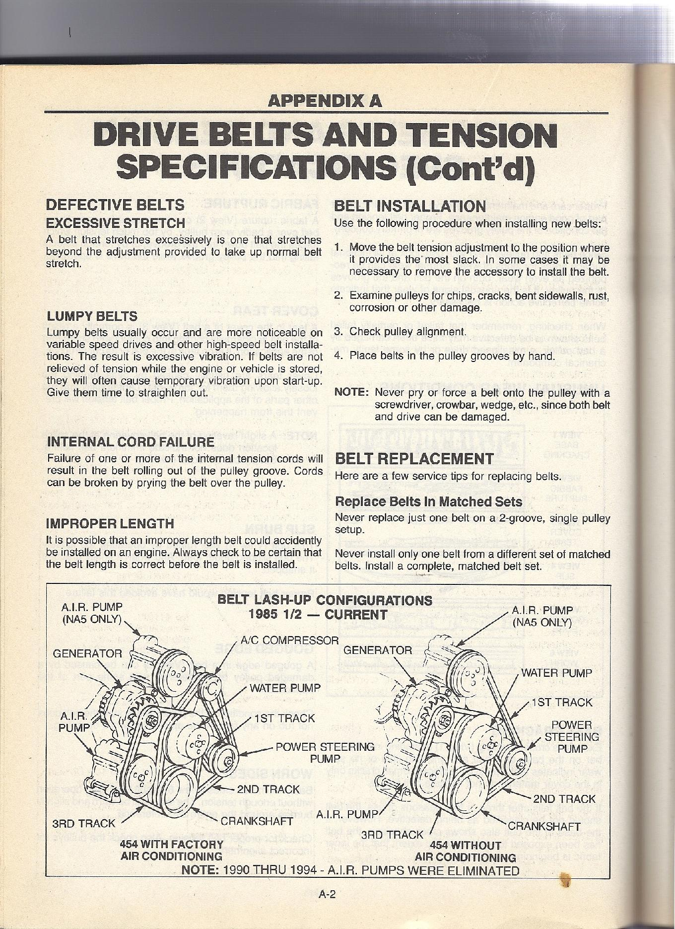 I Need A Belt Diagram For A 1984 Fleetwood Pace Arrow Manual Guide