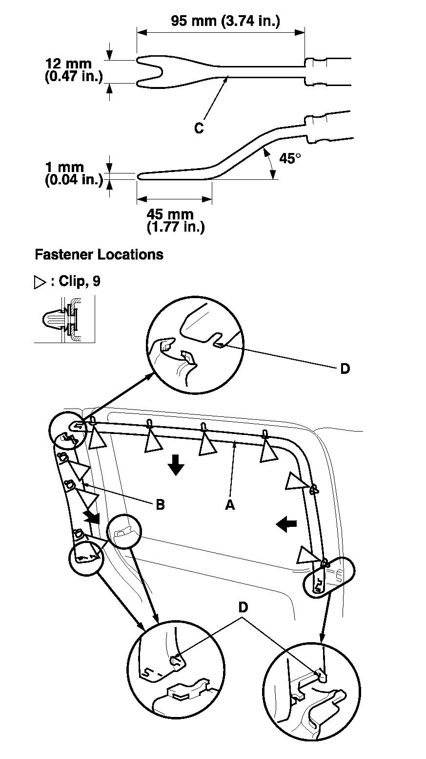 how to remove sliding door cable 2000 daewoo nubira