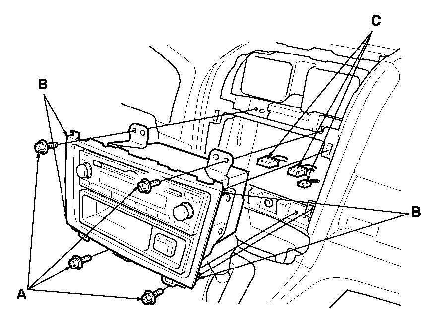 need interior trim  wiring diagram to install radio onto