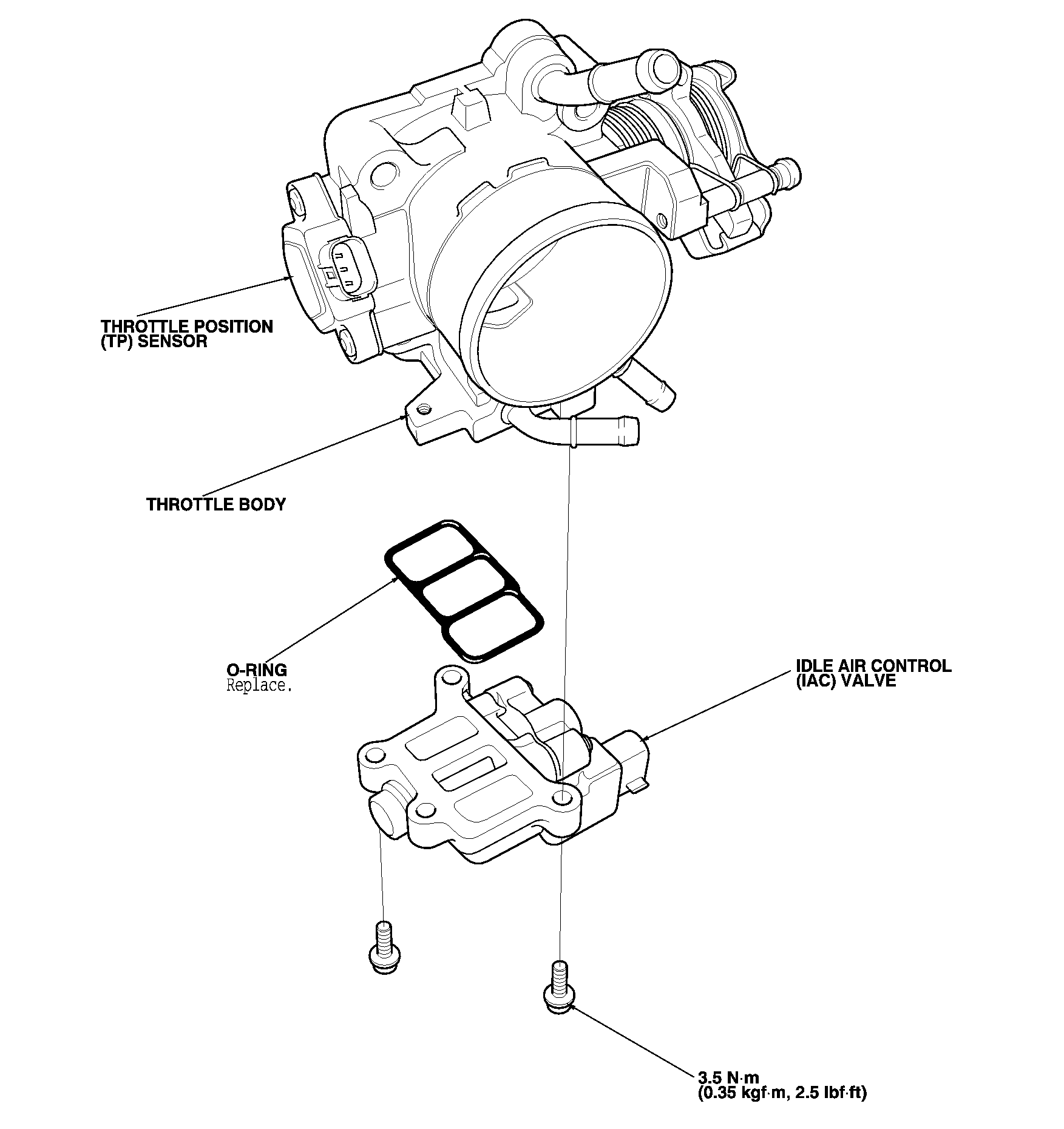 honda element throttle position sensor