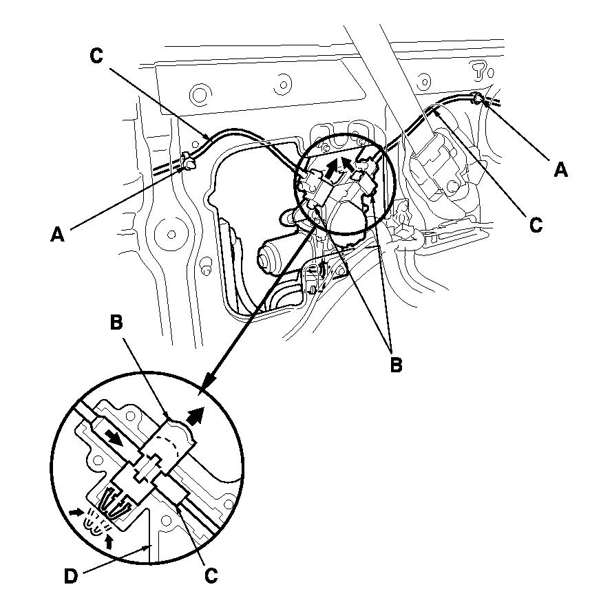2004 honda odyssey sliding door parts diagram  honda  auto