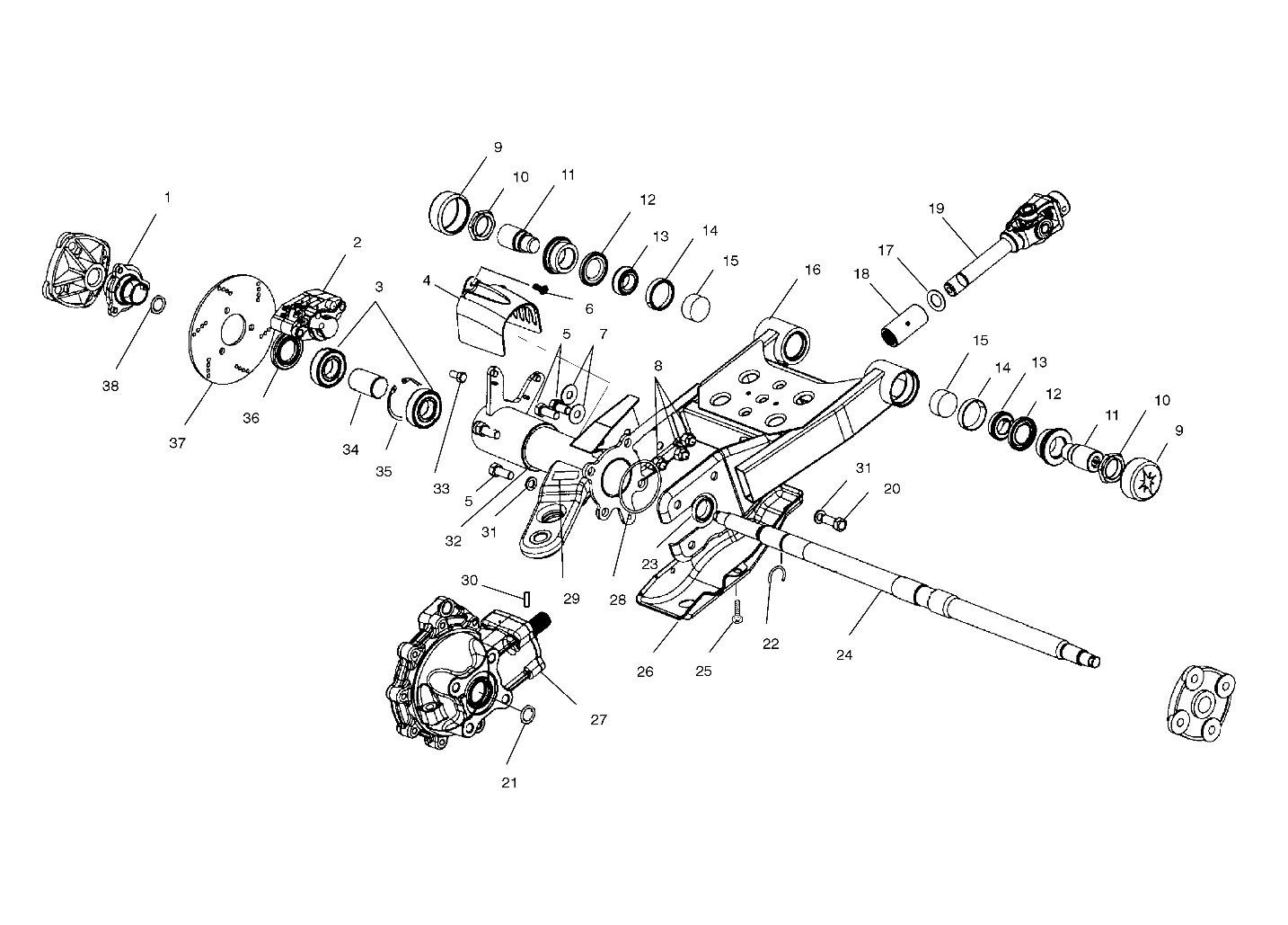 Polaris Magnum 330 Parts Diagram