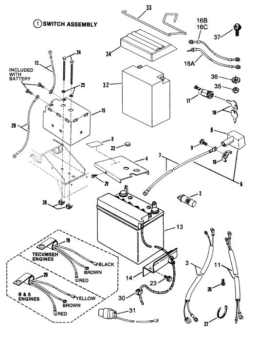 Briggs And Stratton 12 5 Hp Wiring Diagram Vanguard Motor Wiring
