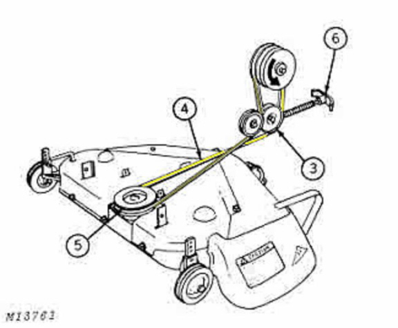 deere  hydraulic lift garden tractor