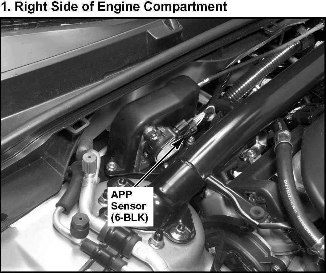 My 2004 Acura TL Has A DTC Code Of P2138( APP Sensor A