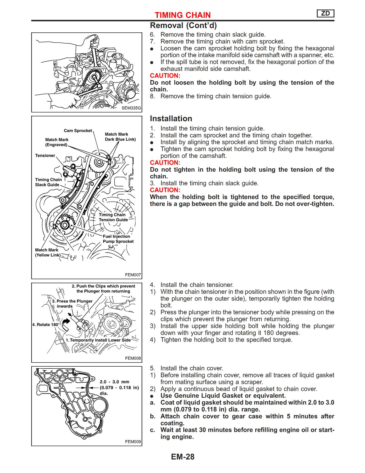 mazda wl engine timing marks diagrams how do you set the value timing on a nissan zd30 motor #14