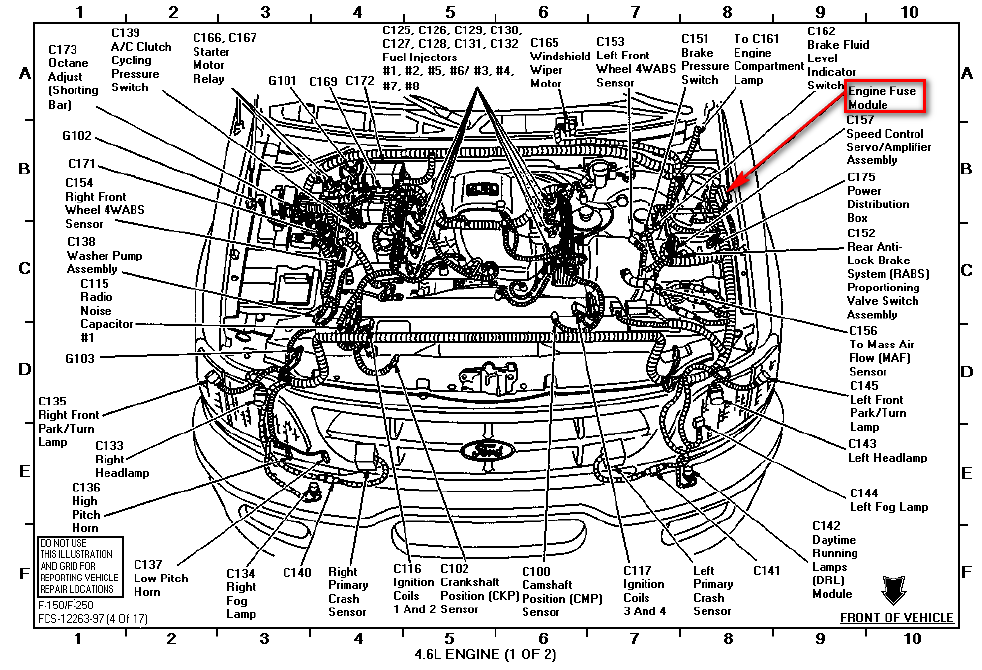 i have a 1998 ford f-150 cab with a 4.6 litre engine. this ... 2006 ford f 150 6 cylinder engine diagram 2006 ford f 150 supercrew radio wiring diagram #10