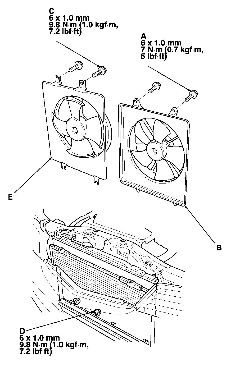 how to replace condensor fan assembly