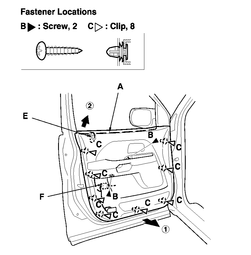 lock on front passenger side will not lock with electrical