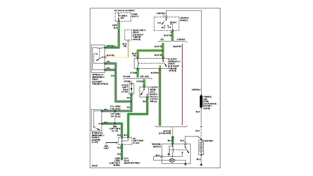 smart start interlock wiring diagram smart wiring diagram exles