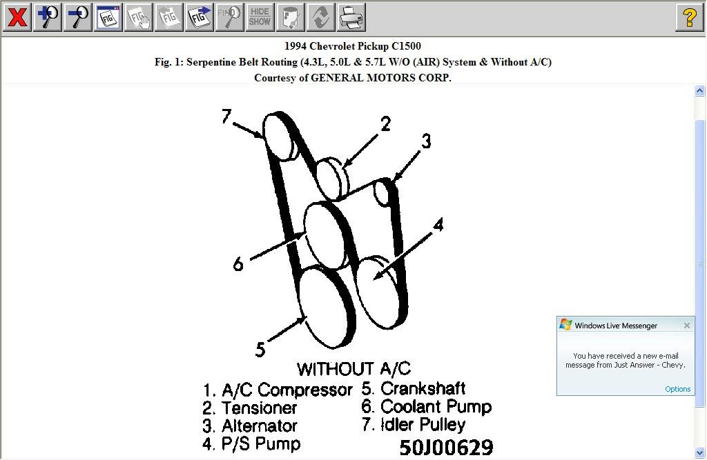 Fuse Diagram For 1994 Chevy Caprice Serpentine Belt Routing Diagram