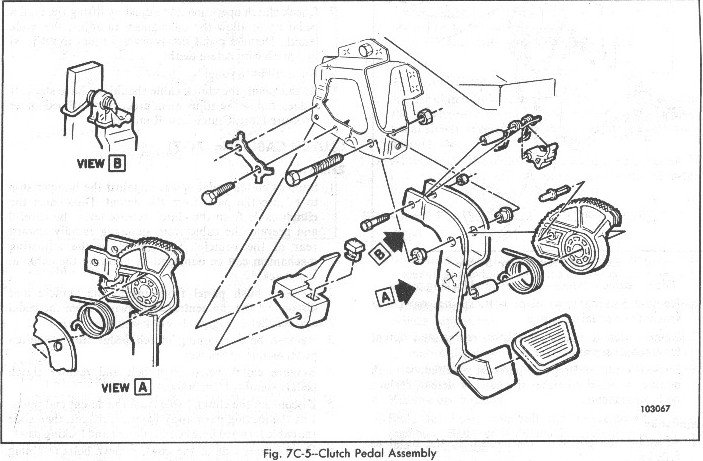 33 S10 Clutch Pedal Assembly Diagram