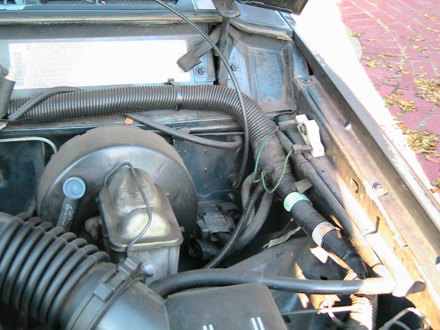 how to open hood with broken cable