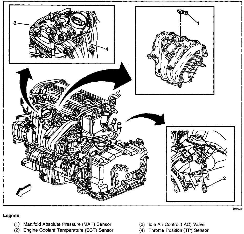 02 pontiac grand am oxygen sensor location  02  free engine image for user manual download 2000 pontiac grand prix gtp engine diagram Pontiac 3.4 Engine Diagram