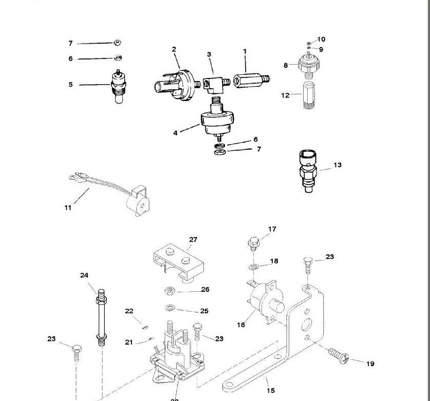 5 0 liter gm carbureted motor mercruiser outdrive  motor