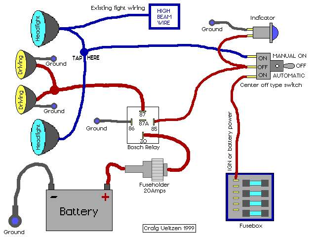 wiring diagram for fog lights with a relay the wiring diagram, wire diagram, relay wiring diagram