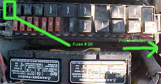 power supply fuse for radio cd player etc located. Black Bedroom Furniture Sets. Home Design Ideas