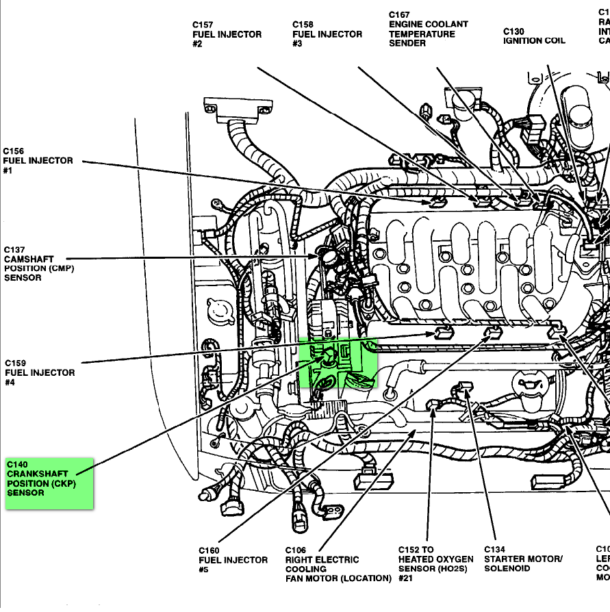 mercedes e320 belt diagram with 2003 Mercedes Ml350 Crankshaft Position Sensor Location on T4280505 Need diagram replace belt 95 mercedes e additionally T13820193 1992 mercedes 190e2 3 belt diagram furthermore Chrysler 200 2 4 Liter Engine Diagram further 1999 Buick Park Avenue Engine Diagram as well RepairGuideContent.