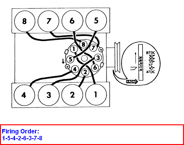 I need a spark plug diagram for a 1971 390 ford f100 truck.