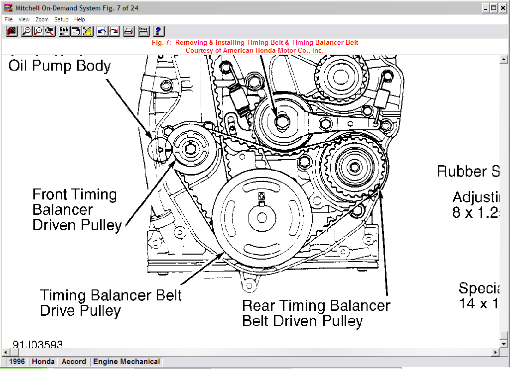 Where Do You Line Up The Timing Marks On Balancer Pulley