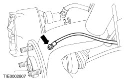 inner tie rod removal with 0l3rf 2002 Ford Focus Insite Replacing Front Wheel Bearing on RepairGuideContent as well 0l3rf 2002 Ford Focus Insite Replacing Front Wheel Bearing in addition Replacement Windshield Wiper Blades 37361 furthermore Outer constant velocity  cv  joint together with How Does A Collapsible Steering Column Work.
