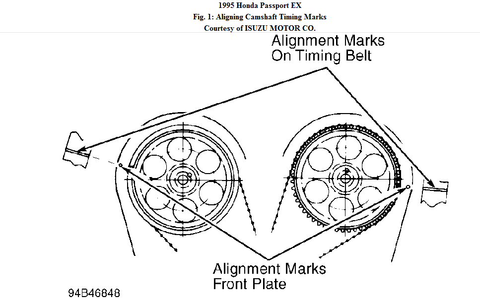 Ford 4 0 Liter Sohc Belt Diagram