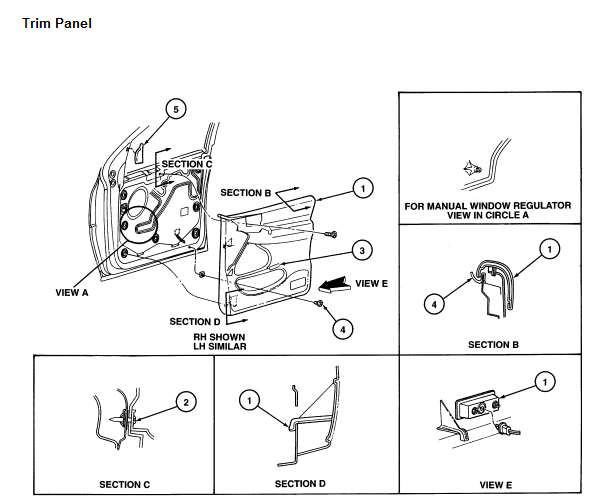 where can i get information pertaining removal   replacement of driver u0026 39 s side power window motor