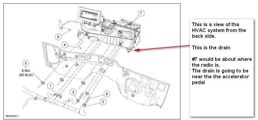 car condenser location alternator location