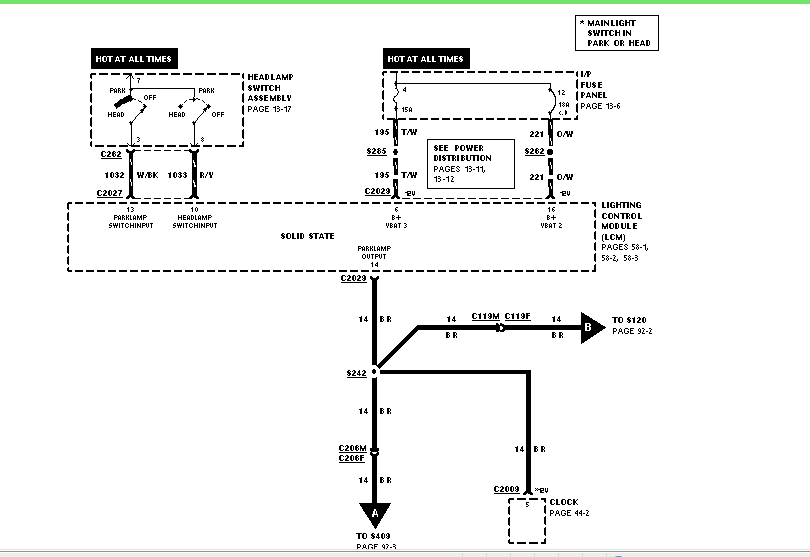1997 ford crown victoria can i a complete wire harness diagram graphic