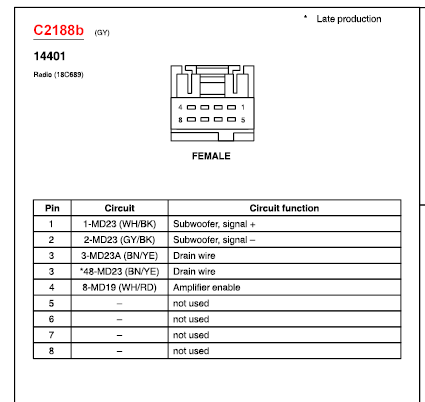 2005 ford five hundred radio wiring diagram wiring diagram and clarion car radio stereo audio wiring diagram autoradio connector