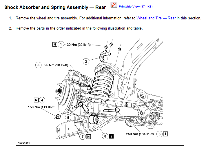 ford escape suspension