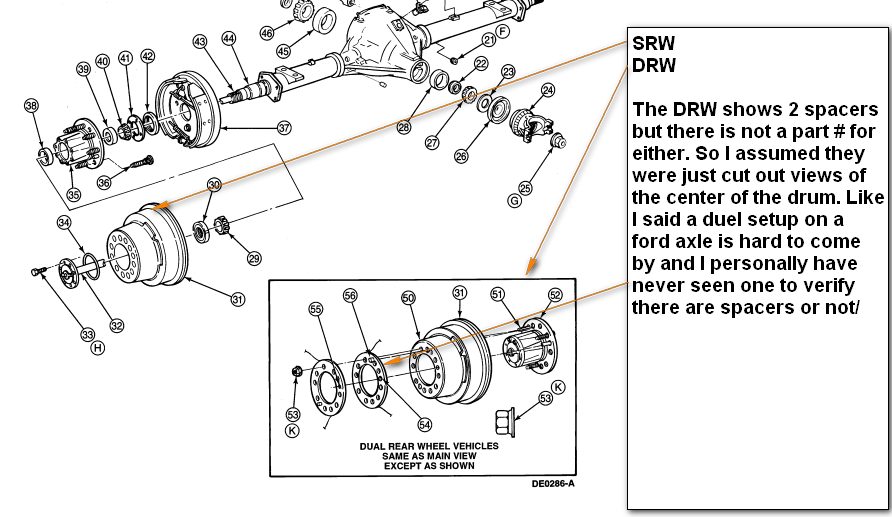 ford f250 1997 2wd how do i fit duel wheels to the rear