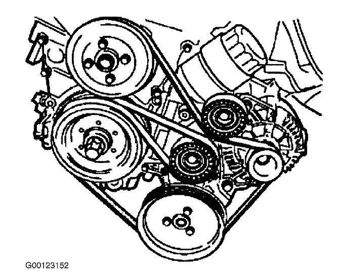 I Have A 2000 328i Bmw We Broke The Serpentine Belt  We Are Looking For The Correct Way It Is