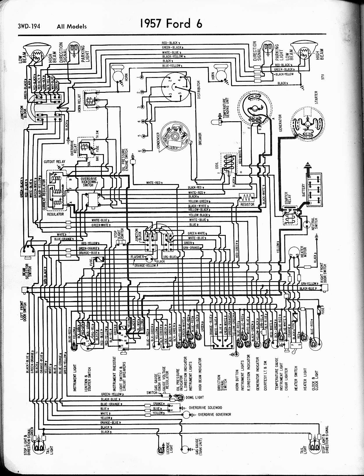 56 ford fairlane wiring diagram the coil resistor on a 56 ford was missing on the car i ... 1959 ford fairlane wiring diagram