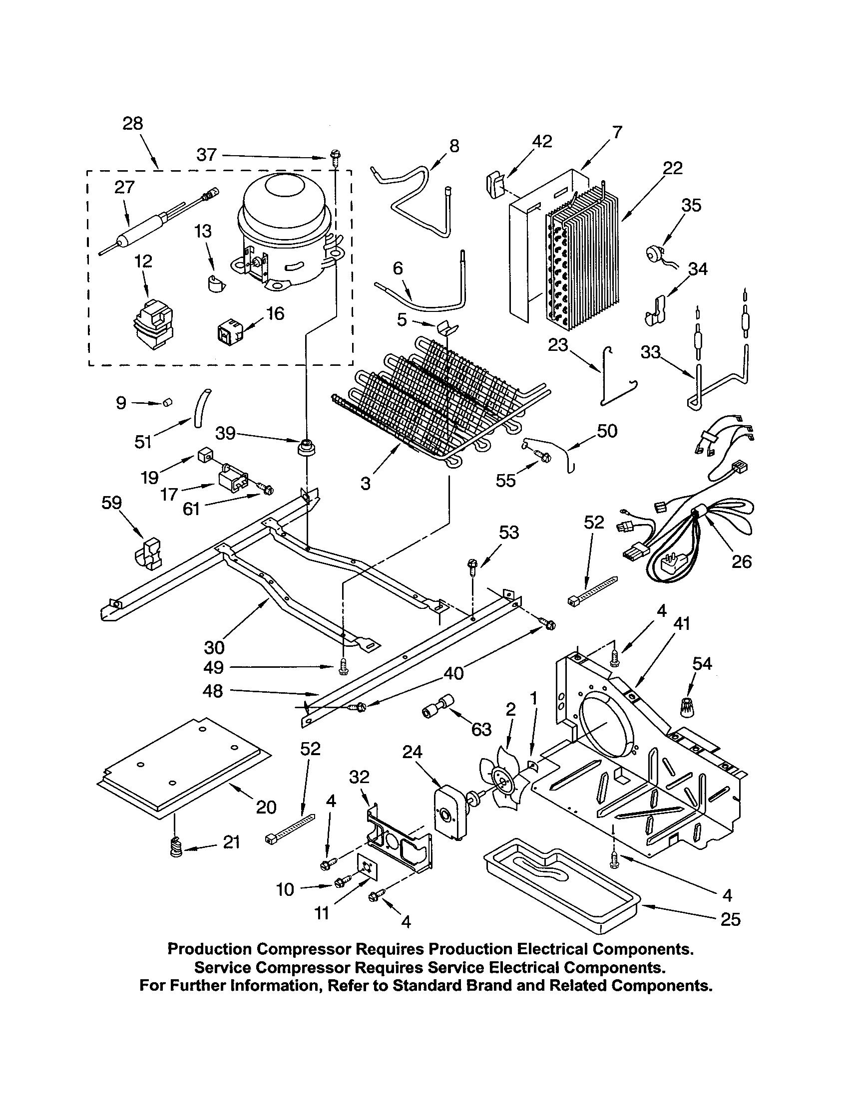 how to change a compressor relay on a kenmore coldspot model xxxxxxxxxxx