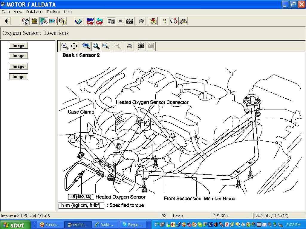 how many o2 sensors are in a 1998 lexus gs 300 graphic graphic graphic graphic graphic