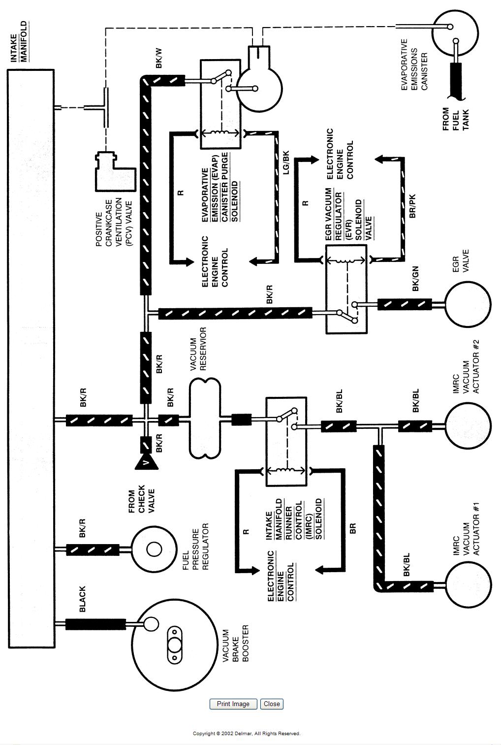 need a vacuum hose diagram