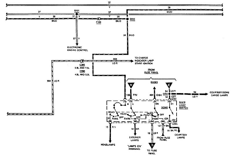 help i need the wiring schematics for my 1988 ford