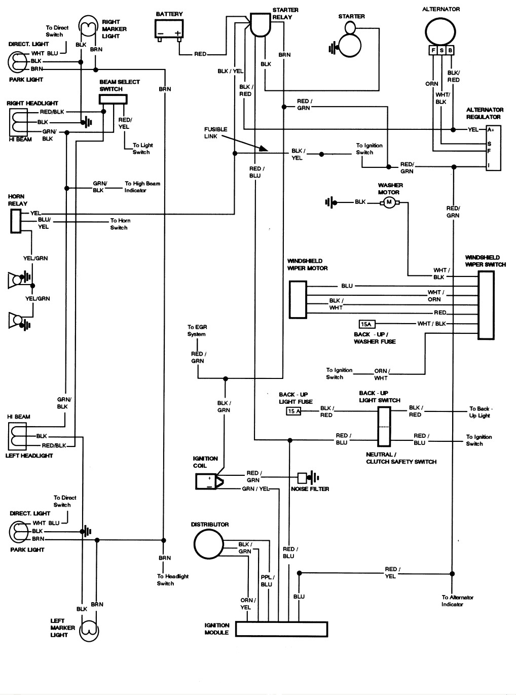 i need a schematic for a electronic spark controll for a