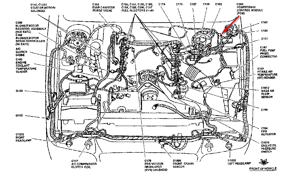 ford edis ignition module wiring diagram  ford  auto