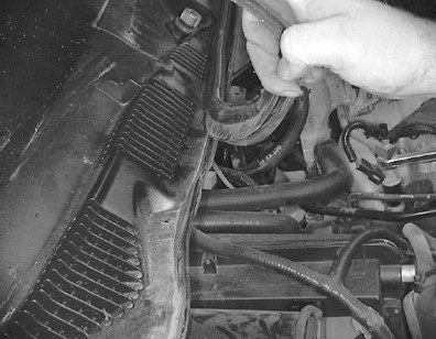 Grand Marquis Wiper Motor Removal