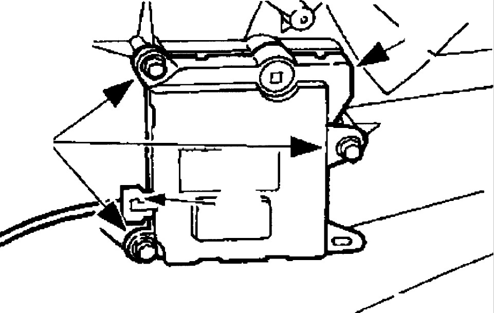 D door actuator for 05 f150 door panel removal