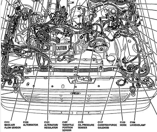 1991 1998 ford explorer engine diagram 1998 ford explorer fuse diagram