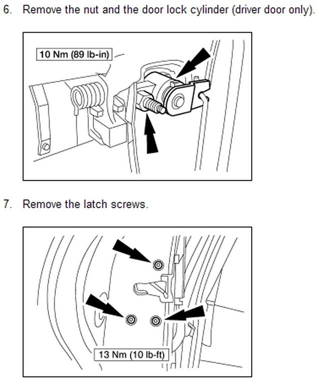 How to remove replace the window regulator in a lincoln for 03 lincoln ls window regulator