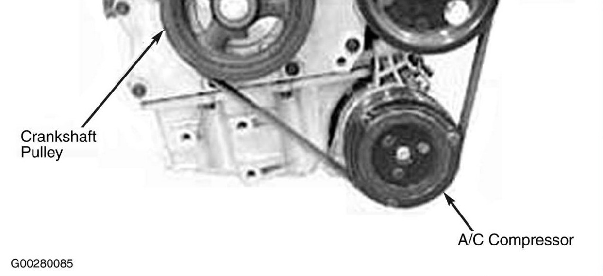 My Serpentine Belt On My 2004 Mini S Just Broke
